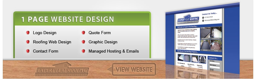 1-page-web-design-expert-flat-roofing
